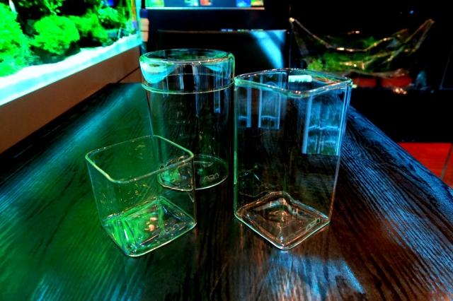 ADA GLASS POT MARU / KAKU Long / KAKU Short