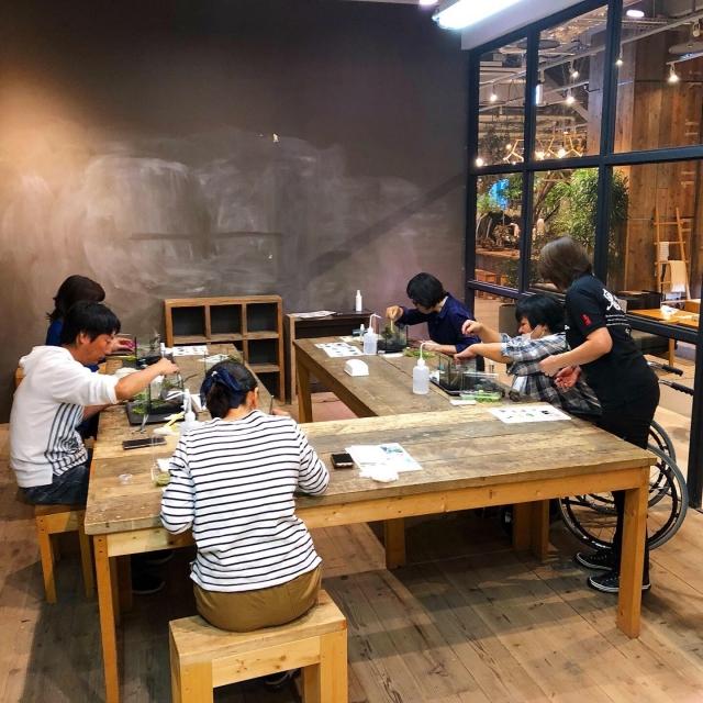 October.14 NagoyaGarage WorkShop 風景