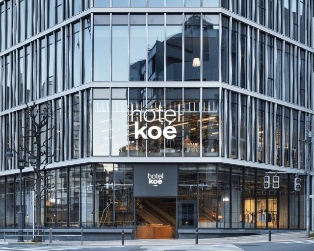 1st STAGE  hotel koé tokyo