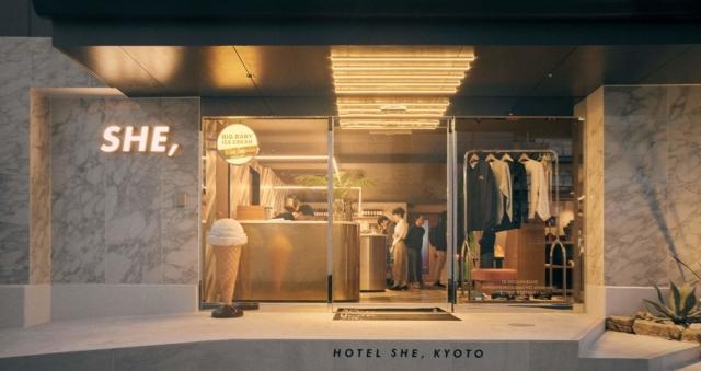 2nd STAGE  hotel she kyoto ホテル シー キョウト