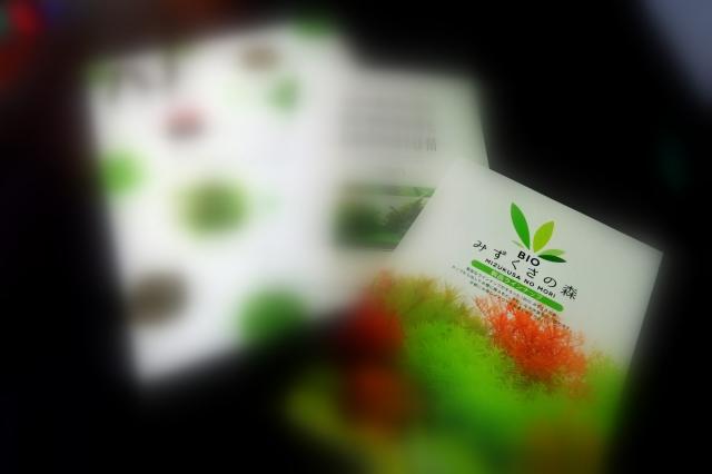 みずくさの森 製品ラインナップ NEWパンフレット2種無料配布開始